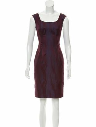 L'Wren Scott Printed Mini Dress w/ Tags Violet