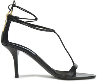 Stella McCartney Chain-embellished Faux Leather Sandals