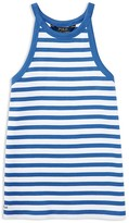 Ralph Lauren Girls' Striped Rib Tank - Sizes S-XL