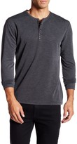 7 Diamonds Fillmore Long Sleeve Henley Shirt