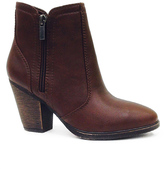 Dollhouse Brown Arrogant Bootie