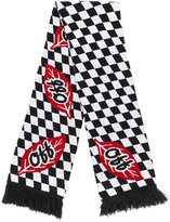 Off-White chequered scarf - men - Acrylic - One Size