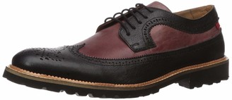 Marc Joseph New York Men's Leather Extra Lightweight Technology Oxford Longwing Detail
