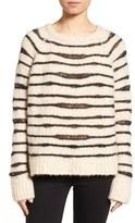 Zadig & Voltaire Women's Kary Open Knit Stripe Sweater