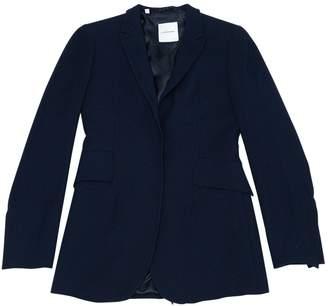 CNC Costume National Blue Wool Jackets