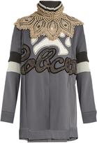 Marc Jacobs Embellished oversized wool-blend dress