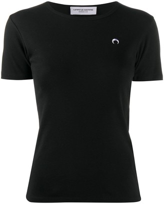 Marine Serre logo detail T-shirt