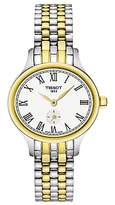 Tissot T1031102203300 Women's Bella Ora Piccola Two Tone Bracelet Strap Watch, Silver/Gold