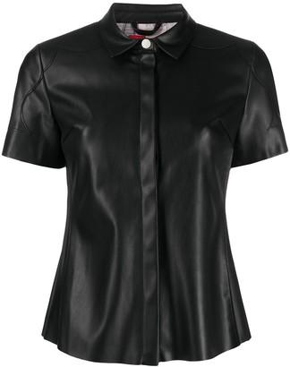 Urban Code Salma faux-leather shirt