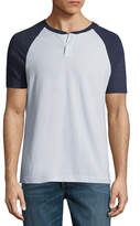 Arizona Short Sleeve Raglan Sleeve Henley Shirt