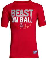 Under Armour Houston Rockets Combine Beast on Ball T-Shirt, Big Boys (8-20)