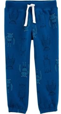 Carter's Toddler Boy Pull-On Fleece Pants