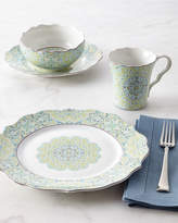 Horchow 16-Piece Lyria Teal Dinnerware Service