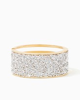 Charming charlie Cutout Crystallized Hinge Bracelet