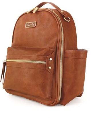 Itzy Ritzy Mini Backpack Diaper Bag - Cognac