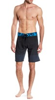 Burnside Striped Board Short