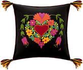 Jan Constantine Fiesta Heart Cushion