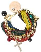 Alexis Mabille Multicolor Chain Bracelet