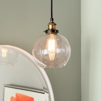 Mercury Row Bundy 1-Light Single Globe Pendant Mercury Row Finish: Antique Brass