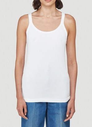 Gucci Orgasmique Logo Patch Tank Top