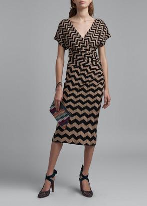 Missoni Zigzag Knee-Length Dress