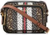 Burberry monogram stripe camera bag