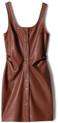 Nanushka Ernie Faux-Leather Mini Dress