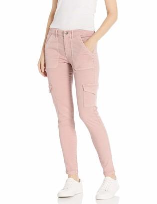 Daily Ritual Amazon Brand Women's Stretch Twill High-Rise Skinny Cargo Pant