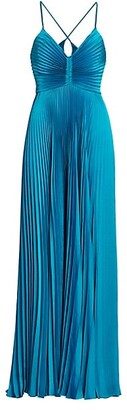 A.L.C. Aries Pleated Gown