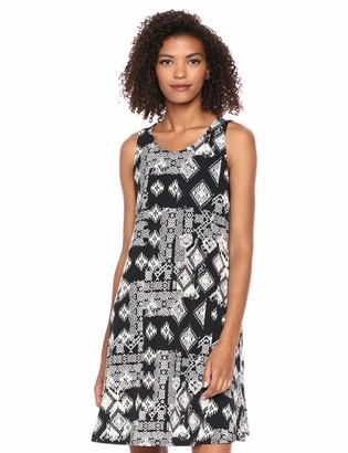Karen Kane Women's GEO Print Chloe Dress