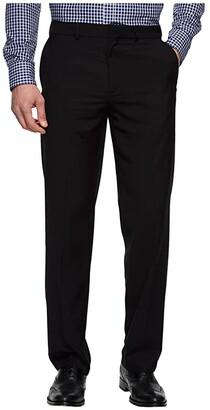 Dockers Straight Fit Stretch Dress Pants (Black) Men's Dress Pants