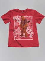 Junk Food Clothing Toddler Boys Chewie Wookie Tee-rooster-2t