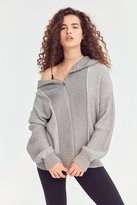 BDG High/Low Zip Hoodie Cardigan