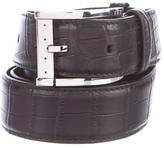 Stefano Ricci Crocodile Belt w/ Tags