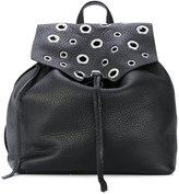 Rebecca Minkoff eyelets embellished backpack - women - Calf Leather - One Size