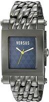 Versus By Versace Men's 3C71900000 Pret Charcoal IP Stainless Steel Blue Dial Watch