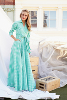 Shabby Apple Central Park Maxi Dress Green