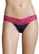 Hanky Panky Lace Low Rise Thong