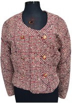 Chanel Red Tweed Jacket for Women Vintage