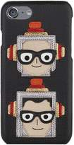 Dolce & Gabbana Family Dauphine Leather iPhone 7 Case