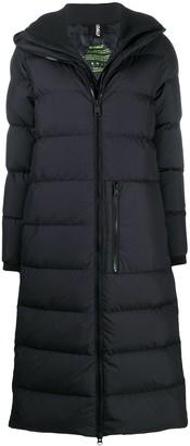 Ecoalf Megeve hooded puffer coat