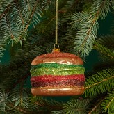 Bloomingdale's Glass Burger Ornament - 100% Exclusive
