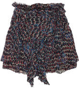 Isabel Marant Melissa printed silk-chiffon mini skirt
