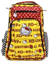 Ju-Ju-Be Infant Girl's For Hello Kitty 'Be Right Back' Diaper Backpack - Yellow