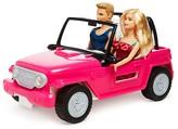 Mattel Barbie® Beach Cruiser with Barbie® & Ken® Dolls - Ages 3+