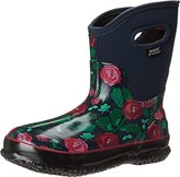 Bogs Women's Classic Rose Garden Mid Winter Snow Boot