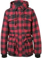 Mostly Heard Rarely Seen checked hooded coat - men - Cotton/Polyester - S