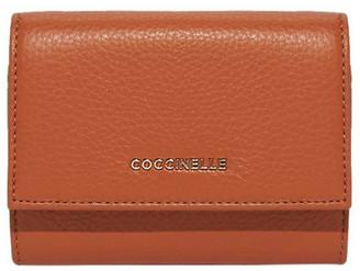 Coccinelle Metallic Soft Tri-Fold Wallet