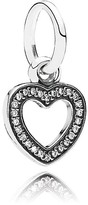 Pandora Pendant - Sterling Silver & Cubic Zirconia Symbol of Love, Moments Collection