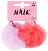 Superdrug Pack Of 2 Pompoms On Hair Bands